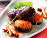 椎茸の肉詰め煮